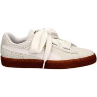 Zapatos Mujer Zapatillas bajas Puma BASKET HEART PERF GU whigo-bianco-oro