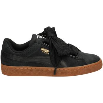 Zapatos Mujer Zapatillas bajas Puma BASKET HEART PERF GU blago-nero-oro