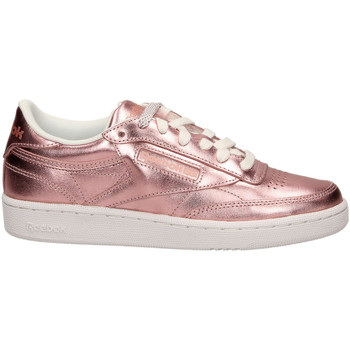Zapatos Mujer Zapatillas bajas Reebok Sport CLUB C 85 S SHIN coppe-rame