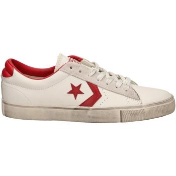 Zapatos Hombre Zapatillas bajas All Star PRO LEATHER VULC OX whtre-bianco-rosso