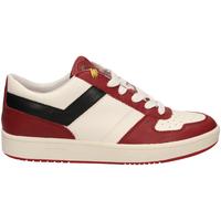 Zapatos Hombre Zapatillas bajas Pony CITY WINGS c7-bianco-rosso