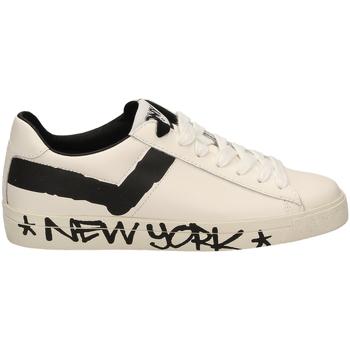 Zapatos Hombre Zapatillas bajas Pony TOP STAR OX f1-bianco-nero