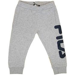 textil Niño Pantalones de chándal Fila - Pantalone grigio 687197-B13 GRIGIO
