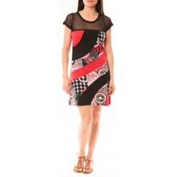 textil Mujer Vestidos cortos Bamboo's Fashion Robe BA1515 Rouge Rojo