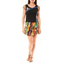textil Mujer Vestidos cortos Bamboo's Fashion Robe BA1508 Orange Naranja