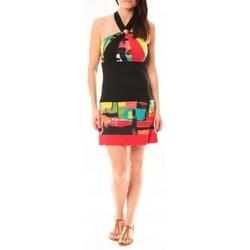 textil Mujer Vestidos cortos Bamboo's Fashion Robe BA1517 Rouge Rojo