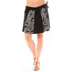 textil Mujer Faldas Bamboo's Fashion Jupe BA1547 Gris Gris