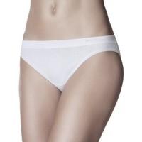 Ropa interior Mujer Braguitas Janira Bragas Slip  Pack-2 Mini-Bond Esencial 1031638 Blanco