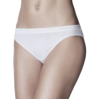 Ropa interior Mujer Braguitas Janira Bragas Slip  Pack-2 Mini-Bond Esencial 1031638 Negro