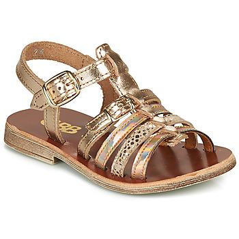 Zapatos Niña Sandalias GBB BANGKOK Rosa / Gold