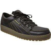 Zapatos Hombre Zapatillas bajas Mephisto RAINBOW Cuero marrón oscuro