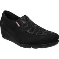 Zapatos Mujer Mocasín Mobils By Mephisto Bertrane Terciopelo negro