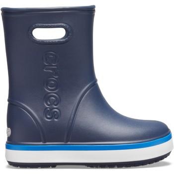 Zapatos Niños Botas de agua Crocs™ Crocs™ Crocband Rain Boot Kid's Navy/Bright Cobalt