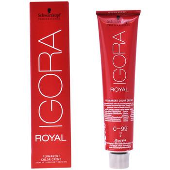 Belleza Mujer Coloración Schwarzkopf Igora Royal 0-99  60 ml