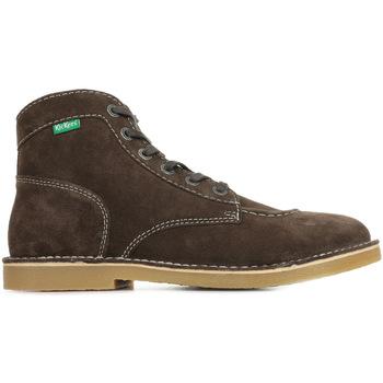 Zapatos Hombre Botas de caña baja Kickers Orilegend Marrón