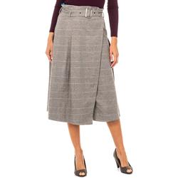 textil Mujer Faldas La Martina Falda Gris