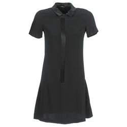 textil Mujer vestidos cortos Ikks BIGU Negro