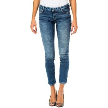 textil Mujer Vaqueros ¾ & 7/8 Met Pantalon Tejano Largo Azul