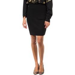 textil Mujer Faldas Met Falda de punto Negro