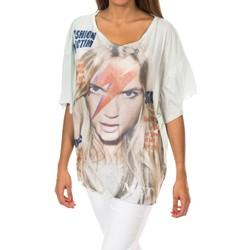 textil Mujer camisetas manga corta Met Camiseta de manga corta Verde