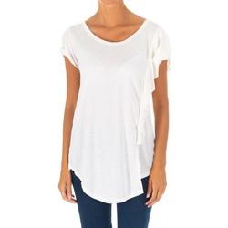 textil Mujer Tops / Blusas Met Camiseta manga corta Blanco