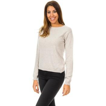 textil Mujer jerséis Met Jerseis manga larga Beige