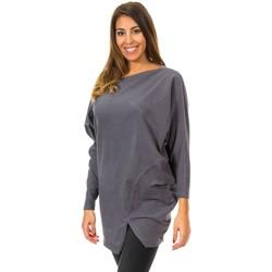 textil Mujer jerséis Met Jersey Murcielago Gris