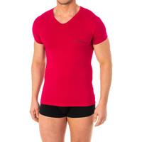 Ropa interior Hombre Camiseta interior Emporio Armani EA7 Camiseta Emporio Armani Rosa fuerte