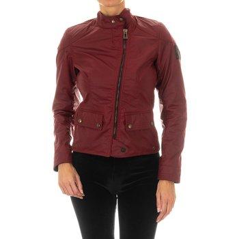 textil Mujer Chaquetas de cuero / Polipiel Belstaff Chaqueta  Bradshaw WC6 Rojo