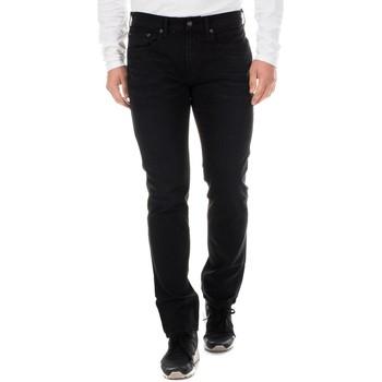 textil Hombre pantalones con 5 bolsillos Nautica Pantalón Tejano Largo Negro