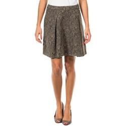 textil Mujer Faldas Met Falda en Forma de A Multicolor