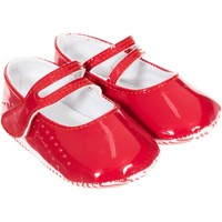 Zapatos Niña Pantuflas para bebé Le Petit Garçon Zapatos Rojo