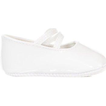 Zapatos Niña Pantuflas para bebé Le Petit Garçon Zapatos Blanco