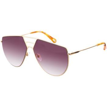 Relojes Mujer Gafas de sol Chloe Gafas de Sol Chloé Dorado-marrón