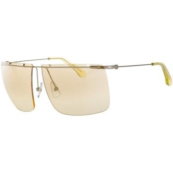 Relojes & Joyas Hombre Gafas de sol Calvin Klein Jeans Gafas de sol Calvin Klein Amarillo