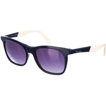 Relojes & Joyas Mujer Gafas de sol Diesel Sunglasses Gafas de Sol Diesel Marino-beige