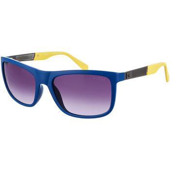 Relojes & Joyas Hombre Gafas de sol Guess Sunglasses Gafas de sol Guess Azul