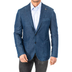textil Hombre Chaquetas / Americana La Martina Americana Azul oscuro