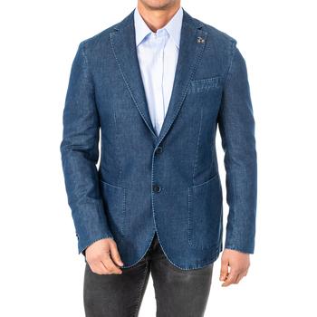textil Hombre Chaquetas / Americana La Martina Americana Azul