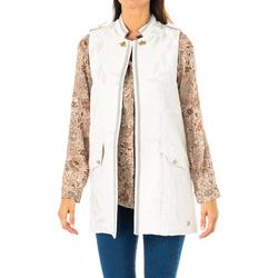 textil Mujer Chaquetas / Americana La Martina Chaleco Plateado