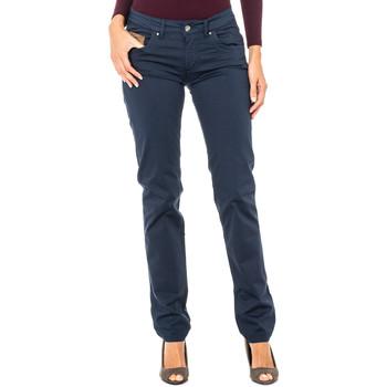textil Mujer Pantalones La Martina Pantalón Stretch Azul