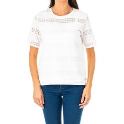 textil Mujer Tops / Blusas La Martina Blusa manga corta Blanco