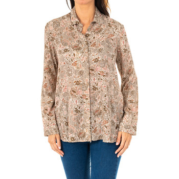 textil Mujer Camisas La Martina Camisa manga larga Marrón