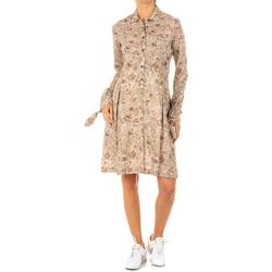 textil Mujer vestidos cortos La Martina Vestido Marrón