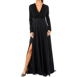 textil Mujer vestidos largos La Martina Vestido Negro