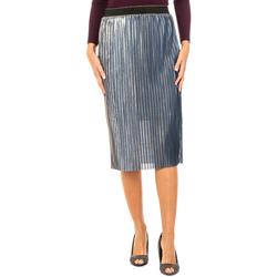 textil Mujer Faldas La Martina Falda Azul-dorado