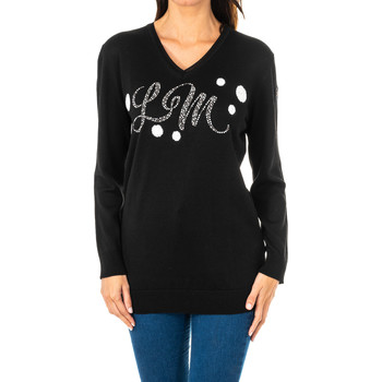 textil Mujer jerséis La Martina Jersey m/larga Negro