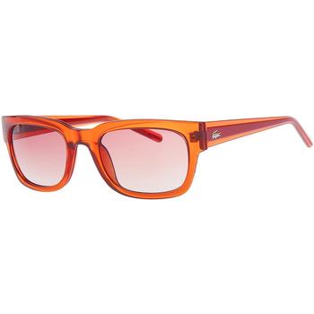 Relojes Mujer Gafas de sol Lacoste Gafas de sol Rojo cristal