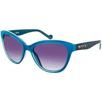 Relojes Mujer Gafas de sol Liu Jo Sunglasses Gafas de Sol Liu Jo Azul cristal