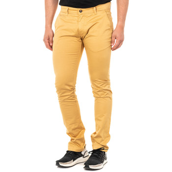 textil Hombre Pantalones chinos La Martina Pantalón corte chino Amarillo